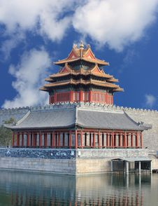 Free Turret,Forbidden City China Royalty Free Stock Photo - 18826855