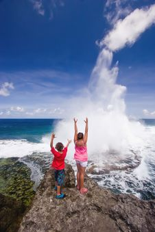 Free Houma Blowholes 04 Royalty Free Stock Photo - 18826935