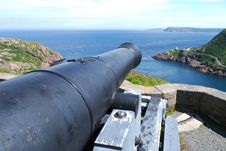 Free Signal Hill Cannon In St. John S Royalty Free Stock Images - 18827399