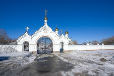 Free Entrance To  Monastery Stock Photography - 18828602