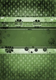 Free Decorative Floral Background Stock Photo - 18829540