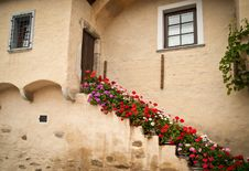 Free Mediterranean Staircase Royalty Free Stock Image - 18829686