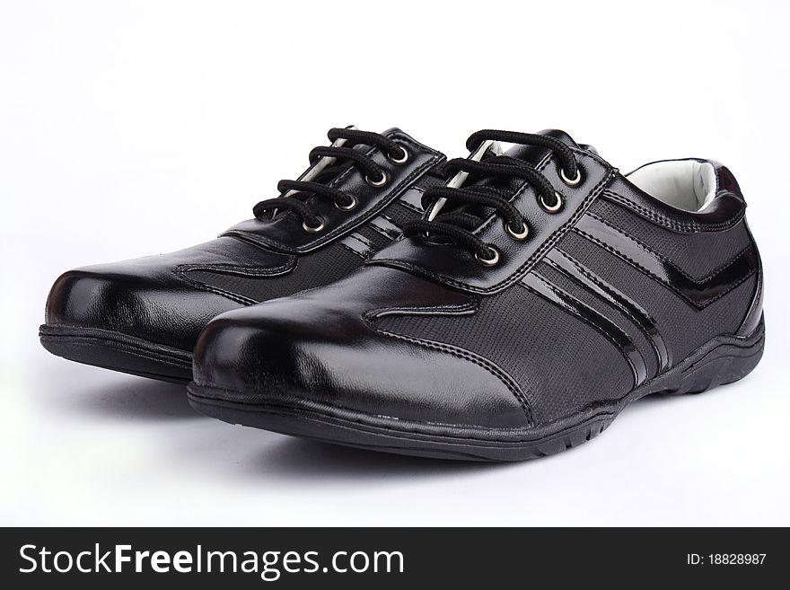 Leather Sport Shoe