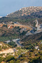 Free Winding Road In The Hills Stock Photography - 18830322
