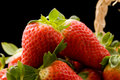 Free Strawberries Inside A Basket Royalty Free Stock Image - 18832906
