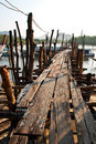 Free Old Wooden Pier Royalty Free Stock Photos - 18836828
