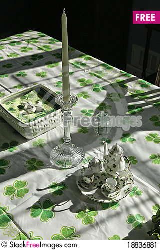 Irish table setting & Irish Table Setting - Free Stock Images u0026 Photos - 18836881 ...