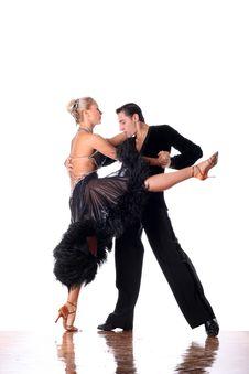 Dancers In Ballroom Stock Photography