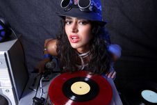 Free Cool DJ Royalty Free Stock Images - 18830189