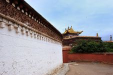 Free Tibet Tample Royalty Free Stock Photography - 18830397
