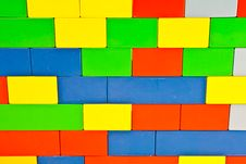 Free Building Blocks Background Royalty Free Stock Photos - 18830728