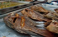 Free Fried Fish Royalty Free Stock Photography - 18830927
