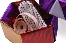 Free Box Needlework Royalty Free Stock Image - 18831006