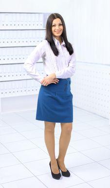 Free Beautiful Business Woman Stock Photo - 18831290