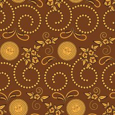 Free Paisley Seamless Illustration Royalty Free Stock Images - 18831569