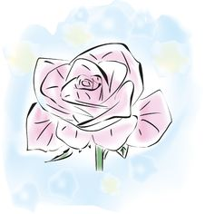 Free One Pink Rose Royalty Free Stock Photography - 18831637