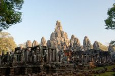 Free Bayon Temple In Angkor, Cambodia Stock Photos - 18831663