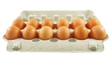 Free Eggs Package Royalty Free Stock Images - 18831719