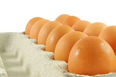 Free Eggs Package Royalty Free Stock Photo - 18831735