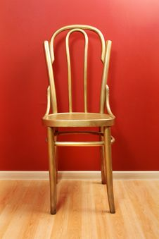 Free Old-fashioned Golden Wood Chair Stock Photos - 18831773