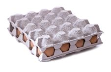 Eggs In Carton Royalty Free Stock Photo