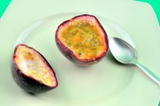 Passion Fruit 2 Stock Photos