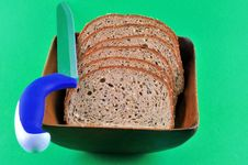 Free Rye Bread With Seeds Royalty Free Stock Photos - 18832628