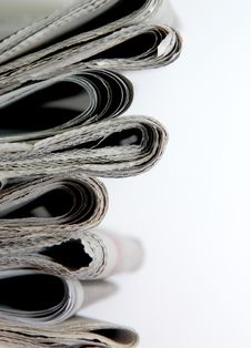 Free Newspapers Royalty Free Stock Photography - 18833167