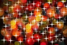 Free Colorful Bokeh With Sparkle Stock Photo - 18833530