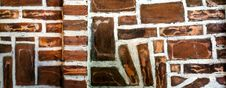 Free Brown Bricks Royalty Free Stock Photo - 18833635