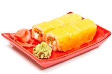 Free Sushi Rolls Stock Image - 18834021