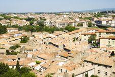 Free Carcassonne Cityscape Royalty Free Stock Photos - 18834308