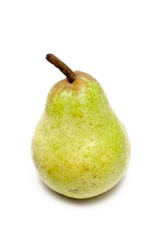 Free A Single Green Pear Royalty Free Stock Photos - 18837068