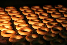 Free Donuts In The Oven Royalty Free Stock Photography - 18837197
