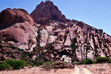 Free Rock Formation At Spitzkoppe, Namibia Royalty Free Stock Photos - 18838048