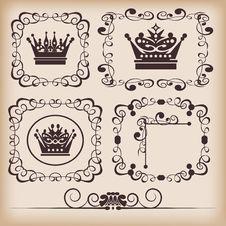 Free Decorative Elements Royalty Free Stock Photo - 18838495