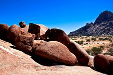 Free Rock Formation At Spitzkoppe, Namibia Royalty Free Stock Photography - 18838607