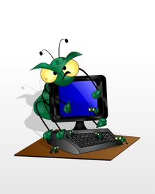 Free PC Bug, Cdr Vector Stock Images - 18838894