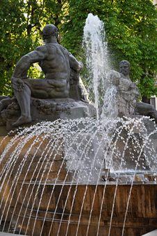 Fontana Angelica Stock Photos