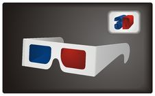 Free 3D Goggles Stock Photo - 18839860