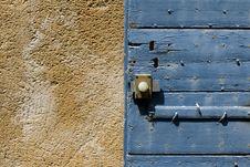 Free Blue Door Shutter Stock Images - 18840454