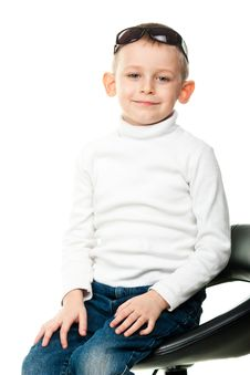 Free Cute Little Boy Royalty Free Stock Photography - 18840957