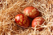 Free Three Easter Eggs Royalty Free Stock Images - 18841559