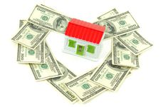 Free House And Money Stock Photography - 18842252