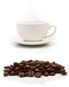 Free Coffee Cup Royalty Free Stock Photos - 18842828