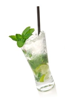 Free Mojito Cocktail Stock Photography - 18842862