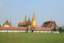 Free Grand Palace In Bangkok,Thailand. Royalty Free Stock Photography - 18843367