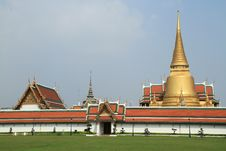 Free Grand Palace In Bangkok,Thailand. Royalty Free Stock Image - 18843396