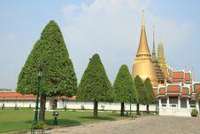 Free Grand Palace In Bangkok,Thailand. Stock Photography - 18843442