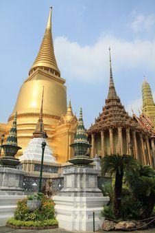Free Grand Palace In Bangkok,Thailand. Royalty Free Stock Photography - 18843537